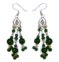 Beaded Earrings - 12