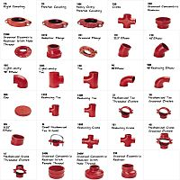 Grooved Ductile Iron Fittings