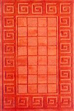 Hand Loom Tufted Woolen Rug - Sn0007