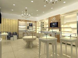 Glass Jewellery Display Counter