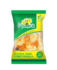 150gms Pyaara Round Masala Tapioca Chips