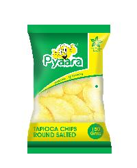 150gms Pyaara Round Salted Tapioca Chips