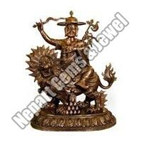 Copper Durga Maa Statue