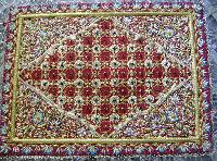 Hand Embroidered Jewel Carpets