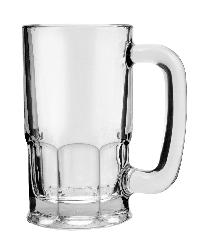 Glass Bear Mug