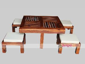 Indian Wooden Cafeteria Furniture