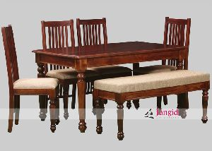 Indian Wooden Dining Set Supplier