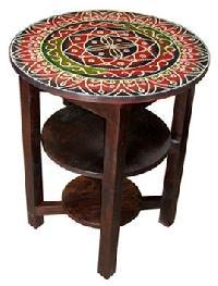 Sheesham Wood Round Table