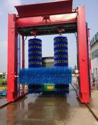 bus wash machine
