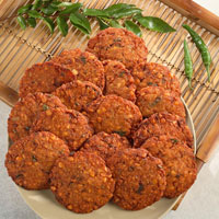 Frozen Parippu Dal Vada, Food Products