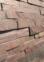 Indian Copper Quartzite Slate Ledge Stone