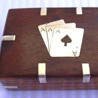 Wooden Playing Card Boxes