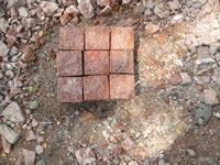 Red Cobble stone