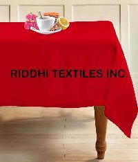 Cotton Plain Tablecloths