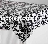 Cotton Printed Damask Tablecloths