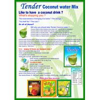Instant Tender Coconut Water Mix