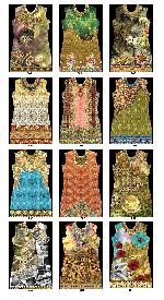 Digitally Printed Kutis (fabric) , Sarees