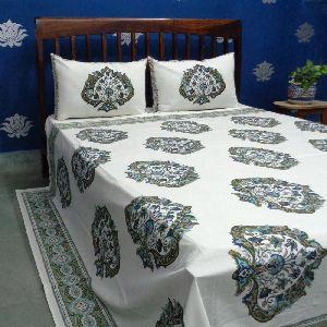 Block Printed Bedspread