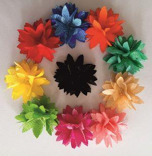 Fabric Flowers K1