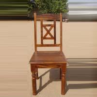 Wooden X Chair