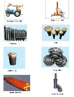 DTH hammers, Button Bits, DTH drilling rigs, tractor mounted rigs, wagon drills, crawler drills and pneumatic tools.