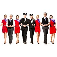 Flight Attendants Uniforms