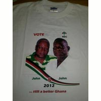 Ghana 2 - Election Photo Printed Tshirts