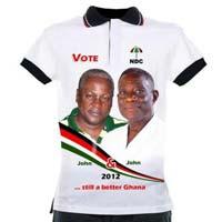 ghana election tshirts