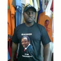 Kenya Presidential Tshirts
