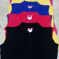 Ladies Sleeveless Polo T-Shirts