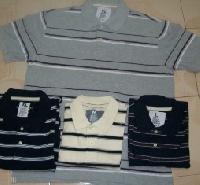 Men Stripe Polo