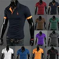 Polo Neck Fashion T Shirt 500