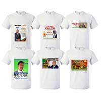 AFRICA ELECTION T-SHIRTS
