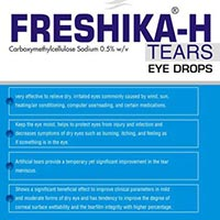 Freshika-H tears Eye Drops