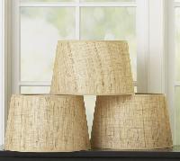 Natural Fiber Lamp Shades