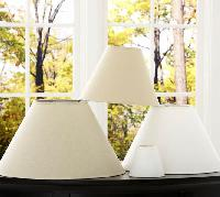Pb Basic Linen Lamp Shades