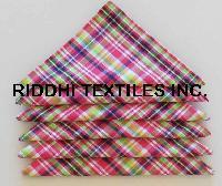 Madras Check Cotton Napkins