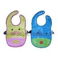 2pcs Pvc Baby Bib Duck  Dog