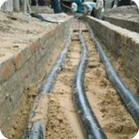 Solar Plant Cable Work