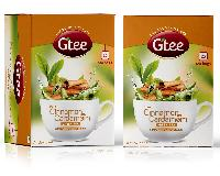 GTEE Green Tea Bags-Cinnamon & Cardamom 25 Tea Bags