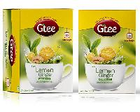 GTEE Green Tea Bags with Lemon & Ginger
