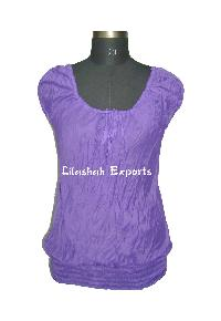 Cotton Blouse Top, Beachwear Tops, Halter Tops