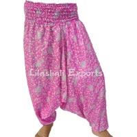 Vintage Silk Sari, Afghani Trouser, Pants, Saree, Readymade Garments - 2150