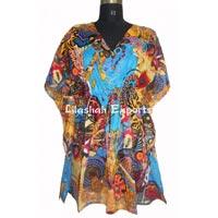 VP3022 Cotton Printed Kaftan dress kaftan manufactor  exporters