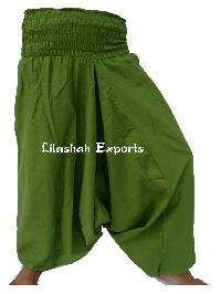 Afghani Cotton Ladies Trouser, Cotton Afgani Trouser, Apprel -  2100
