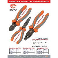 Combination Side Cutting and Long Nose Pliers