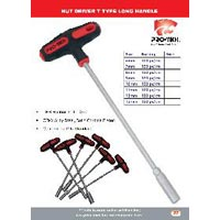 Nut Driver T type Long Handle