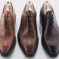 upper leather shoes