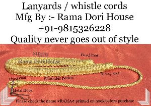 CISF Lanyards Whistle Cords