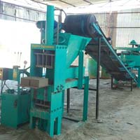 Compressed Stabilized Earth Brick Block Making Machine